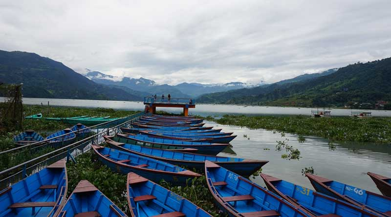Boating experience in Pokhara