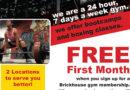BrickHouse Gym 24/7