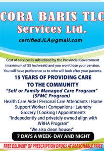 Cora Baris TLC Services Ltd.