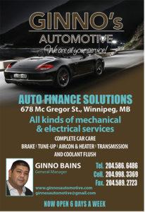 Ginno's Automotive