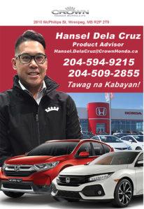 Crown Honda – Hansel Dela Cruz