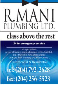 R Mani Plumbing Ltd.