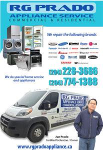 RG Prado Appliance Service