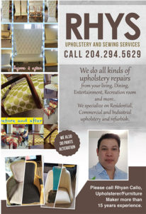 RHYS Upholstery and Sewing Services