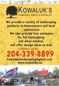 Kowaluk's Landscaping Supplies & Services Ltd.